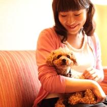 いつでも愛犬と一緒に。全室42平米以上のゆとりの空間