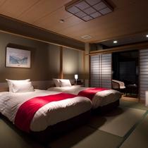 和モダンツインは落ち着いた上質な空間になっております