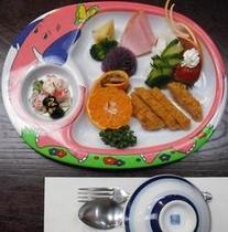子育て支援プランの夕食例