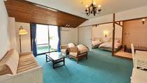オーシャンビュー ホテル棟 和洋室の一例