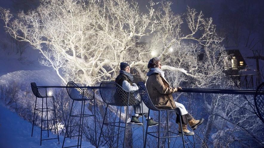 【霧氷テラス】クラウドバー