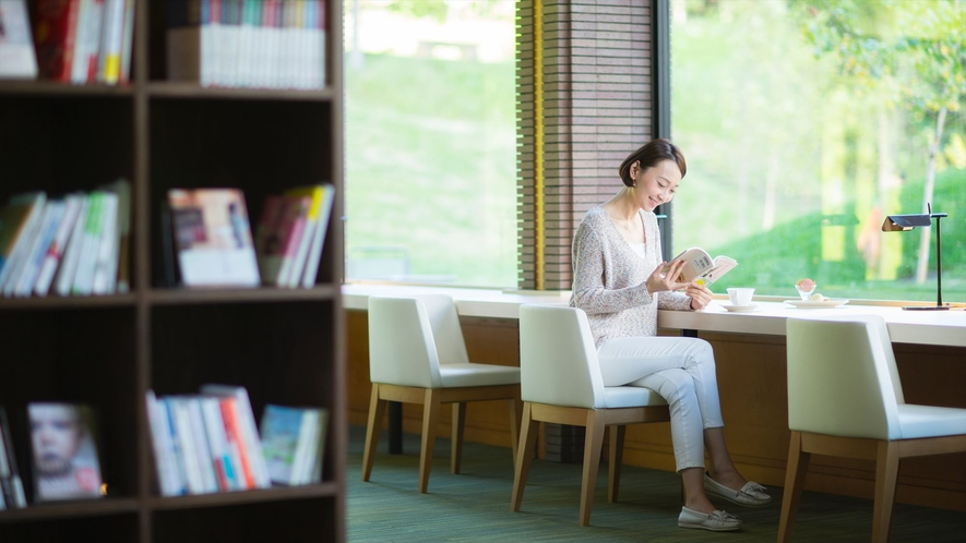 【リゾナーレトマム】Books&Cafe