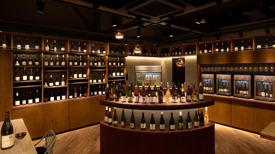 【TOMAMU Wine House】内観