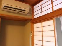 冷暖房がついております。