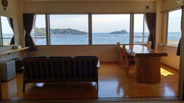 特別室 二ツ礁(ふたつせ)オーシャンビュー和洋室 宿内禁煙