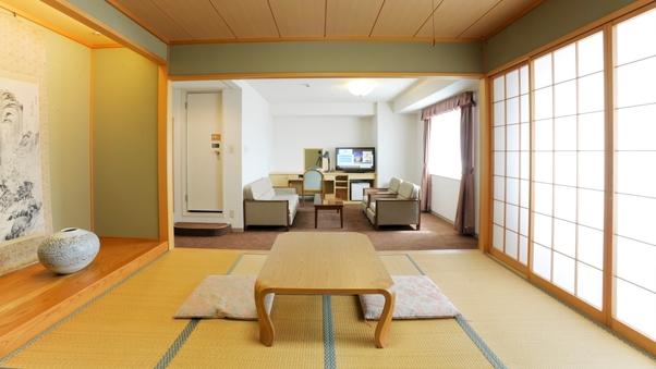 和室(3名利用)・和室8.6畳+洋室22平米