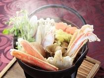 ご夕食1例 冬季は蟹鍋のプランも予定しています