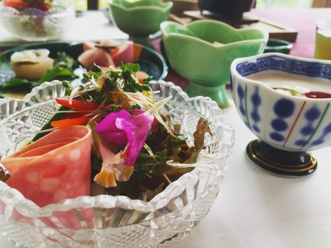 ご朝食1例 朝食は1日の活力源。英気を養って、箱根観光を存分に楽しんで下さい