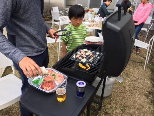青森県内住者限定!おひとり2千円のクーポン1泊2食バーベキュー食材付ゴムボートツアープラン