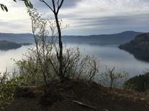 旧カンコ台展望台からの壮大な景観