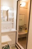 女性専用洗面台&シャワールーム
