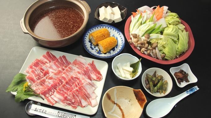 UMEYAの人気NO1★当館オリジナルの『UMEYA特製スタミナ鍋』(*^-^*)