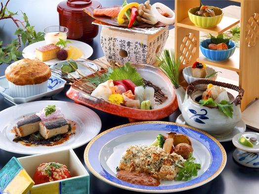 【巡るたび、出会う旅。東北】夕食は料理長へおまかせプラン 海と緑に囲まれたホテルで休日を♪
