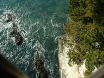 潮見台から真下