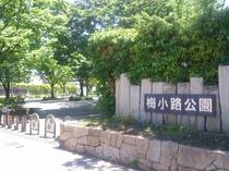 梅小路公園西口