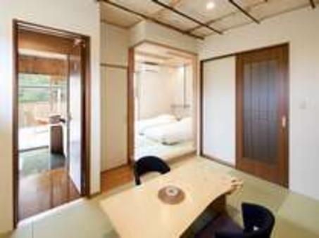 桧風呂付き客室【禁煙 3名様部屋】