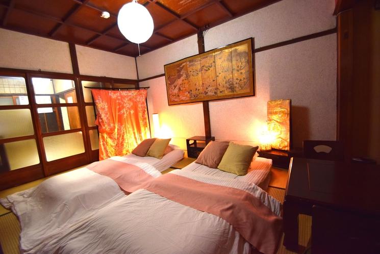 1F 寝室(4~5名様宿泊時)