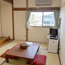 【客室一例】和室 畳でごゆっくりおくつろぎください。
