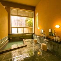 *【本館】強羅源泉100%の温泉浴場(女湯)