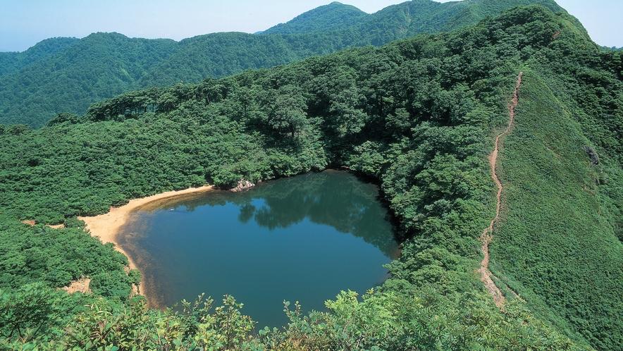 南越前町にある夜叉ヶ池は龍神伝説が伝えられています。