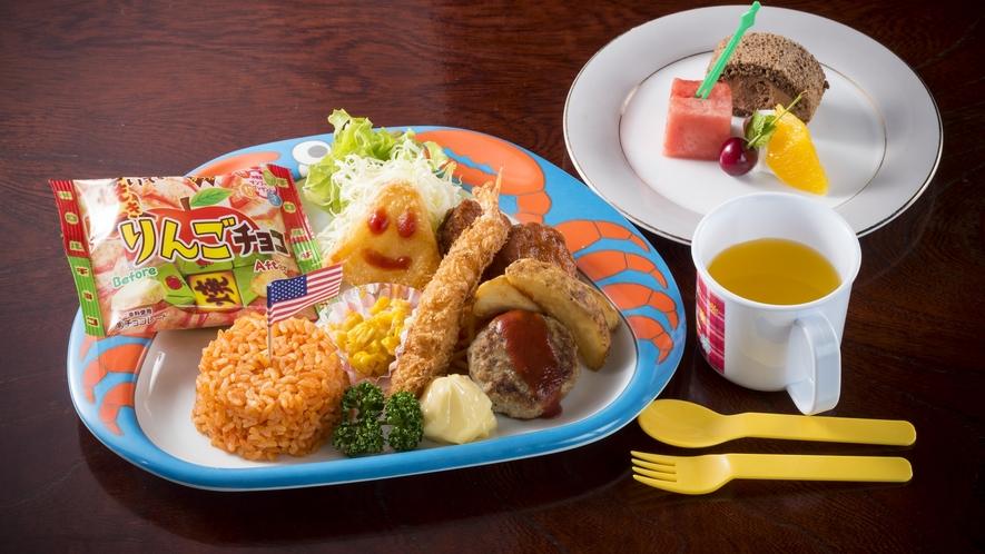 幼児のお子様向けのお料理一例です