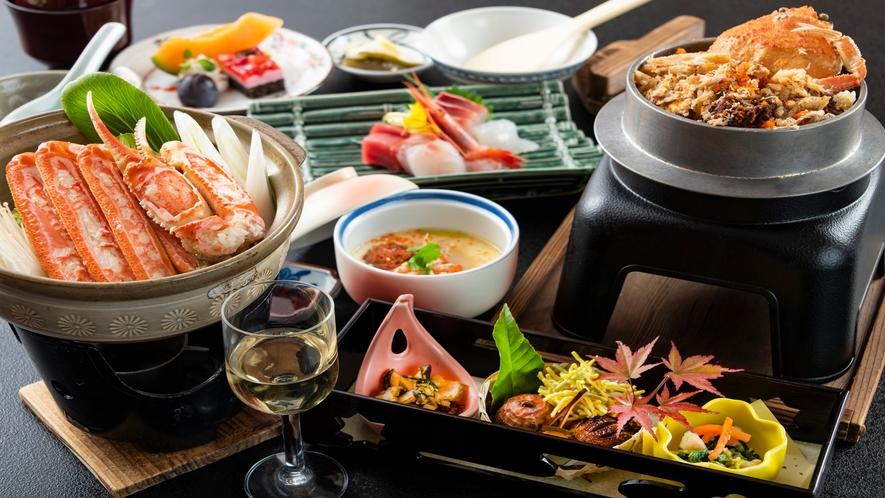 蟹鍋&せいこ釜飯で福井の蟹をご堪能下さい