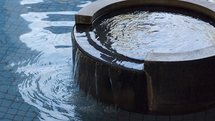 柔らかなお湯が人気の天然温泉です