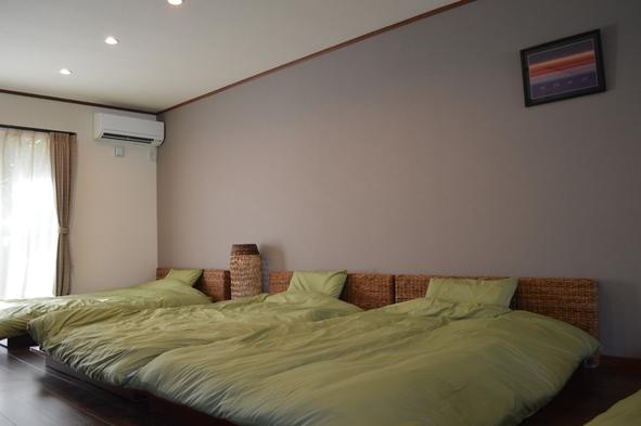 【特別企画継続】2室限定 広々50平米超 セミダブル4ベッド
