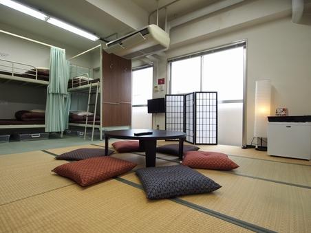 【個室8名】和洋室(2段ベッド) バス・トイレ共用 禁煙