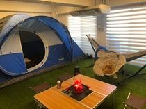 キャンプ部屋