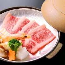 ☆料理 夕食 氷見牛ステーキ