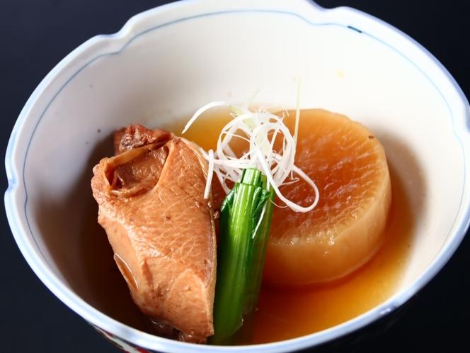 【夕食】 ブリ大根