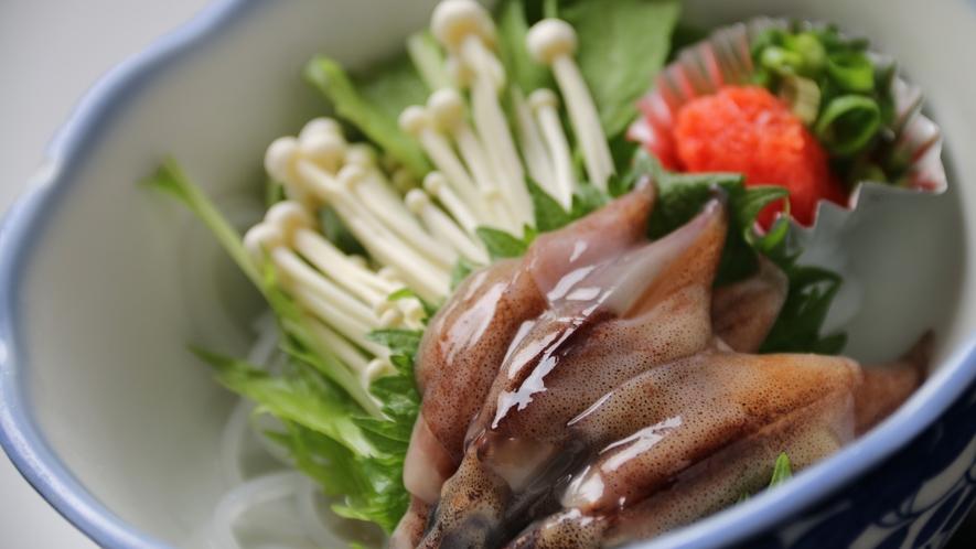 16:9_☆料理 夕食 ほたるいか