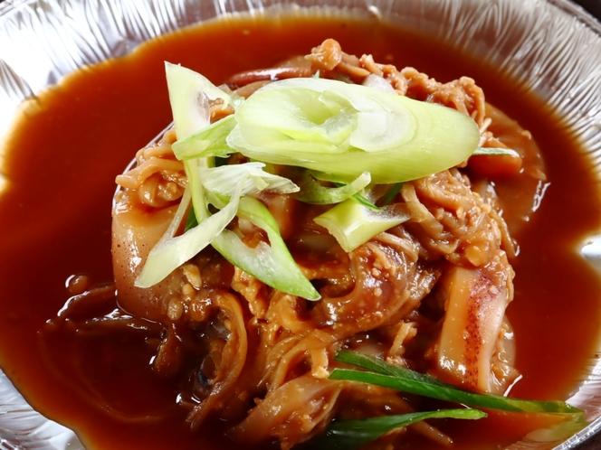 【朝食】イカの味噌焼き