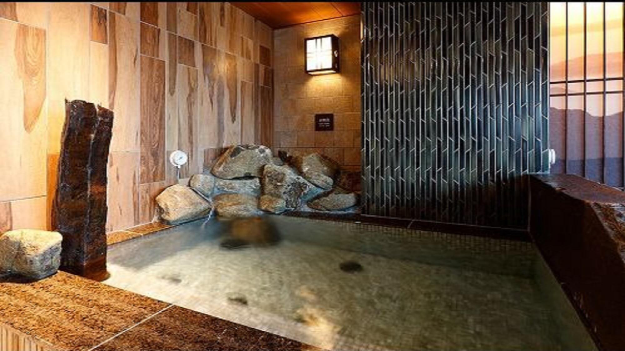 ◆【男性】水風呂 (湯温16〜17℃)
