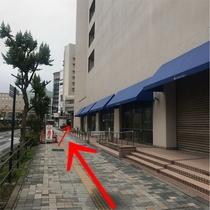 【お車でお越しのお客様へ⑥】長電長野パーキングから当館までの道のり。