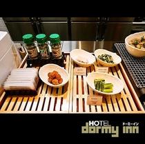 ◆朝食 野沢菜・ふりかけ