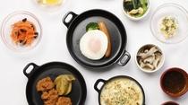 ◆味めぐり小鉢横丁(1Fレストラン:6:30~9:30 L.O9:00)