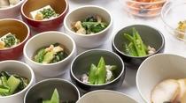 ◆冷製小鉢(1Fレストラン:6:30~9:30 L.O9:00)