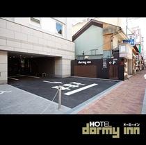 ◆ホテル内機械式立体駐車場 入口