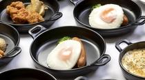 ◆温製小鉢(1Fレストラン:6:30~9:30 L.O9:00)