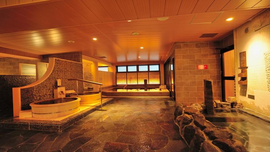 ◇天然温泉大浴場「剱の湯」