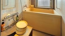 ◇客室檜風呂