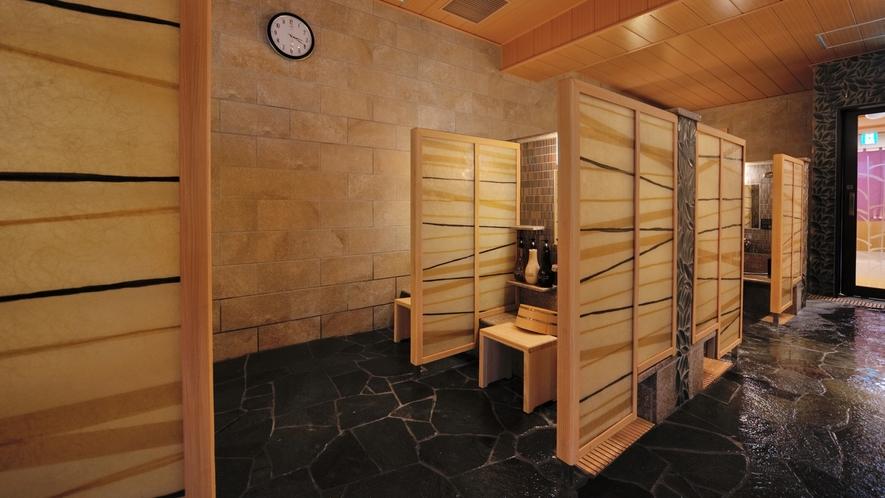 ◇女性 洗い場(カラン10個)
