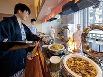 バイキングレストラン「さくら」中華コーナー