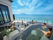 5種の露天風呂「天の川」