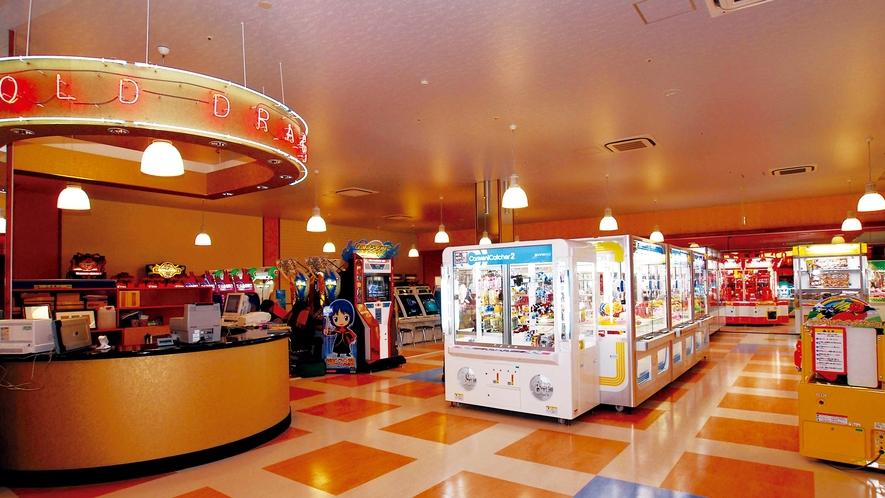**【お祭りランド ゲームセンター(一例)】多種多様なゲーム機をそろえております