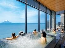 3種の段々風呂「天空」