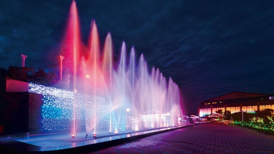 **【オーシャンスパ「ダンシングウォーター」(一例)】世界にひとつだけのオリジナル噴水です!