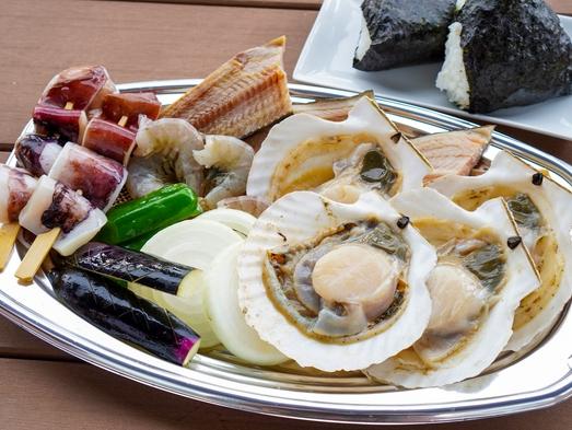 【夏季限定/BBQ付】ジンギスカンor海鮮焼き!青空の下メニューチョイスで楽しくBBQ♪